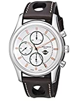 Frederique Constant FC-392HVG6B6 Men's Healey Analog Display Swiss Automatic Brown Watch