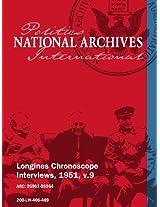 Longines Chronoscope Interviews, 1951, v.9: Dean Rusk, Representative Clarence Brown