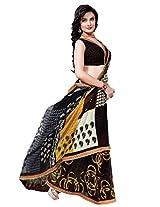 Riti Riwaz Multi saree with unstitched blouse RVL348B