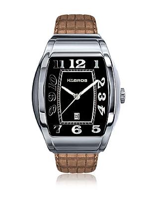 K&BROS Reloj 9424 (Negro Beige)