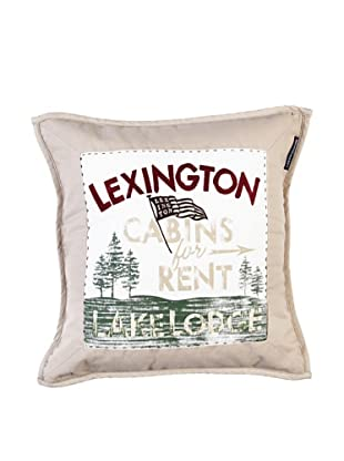 Lexington Company Funda De Cojín Lake House (Beige)