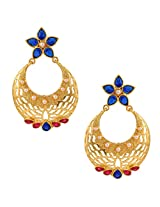 Ethnic Indian Artisan Jewelry Set Pretty Dangler EarringsBAEA0349RB