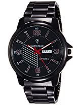 Optima Analog Black Dial Men's Watch - FT-ANL-2507
