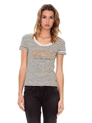 Pepe Jeans London T-Shirt Karen (Weiß/Schwarz)