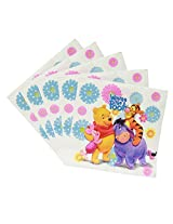 MBGiftsGalore Wnnie The Pooh Paper Napkin