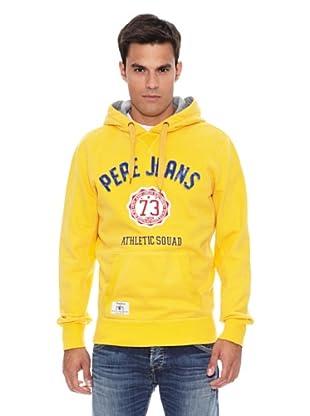 Pepe Jeans London Sudadera Princeton (Amarillo)