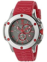 Oniss Paris Men's ON612N-RB/BLK/RED BOLD COLLECTION Analog Display Swiss Quartz Red Watch