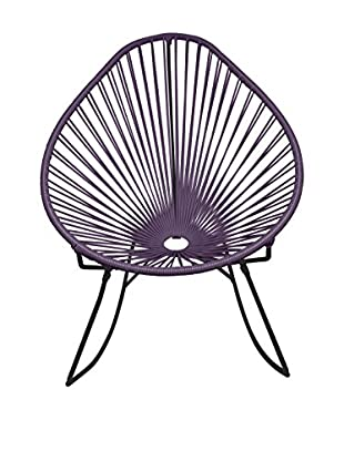 Innit Designs Acapulco Rocker, Grey/Black
