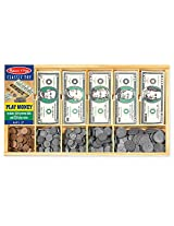 MELISSA & DOUG PLAY MONEY SET (Set of 6)
