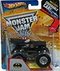 Hot Wheels Monster Jam 1:64 Batman Crushable Car