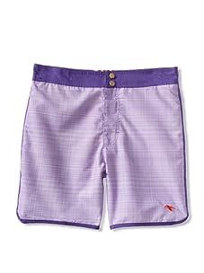 Ted Baker Men's Kiwifru Swim Trunk (Purple)