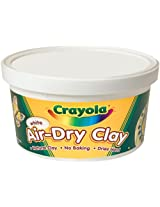 Crayola Air Dry Clay Bucket, White (2.5Lb)
