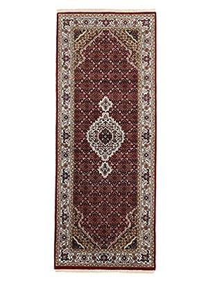 Darya Rugs Traditional Oriental Rug, Maroon, 2' 8
