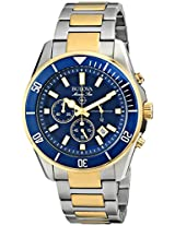 Bulova Marine Star Analog Blue Dial Men's Watch - 98B230