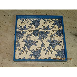 RTKS Creations Tray - Blue Floral