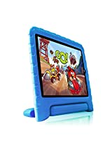 Fintie Kiddie Case Light Weight Shock Proof Convertible Handle Stand Cover for iPad Air 2, Blue (EPF0008AD-US)