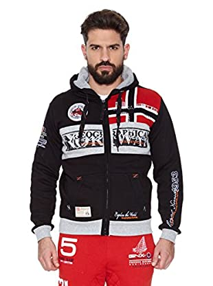 Geographical Norway Sudadera Flyer Men 100 (Negro)