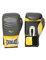 Everlast 1200022 Pro Style Training Gloves (Grey/Yellow)