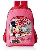 Disney Polyester 45.72 cms Children's Backpack (AGKRBG1047484)