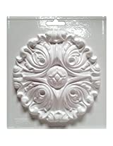 Yaley Cool2Cast Round Scroll Mold, 5.5-Inch