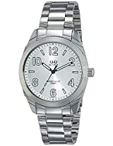 Q&Q Analog White Dial Men's Watch - Q910J204Y