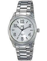 Q&Q Analog White Dial Men's Watch - Q910J204Y