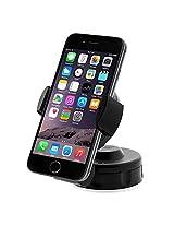 iOttie Easy Flex 2 Windshield Dashboard Car/Desk Mount Holder for iPhone 7 6s 5s 5c, Samsung Galaxy S6 Edge Plus S6 S5 S4 -Retail Packaging -Black