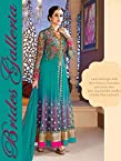 Brides Galleria Rama Green Net Anarkali Suit