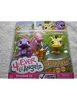 4 Ever Lil Angelz-Zoo Pets-#608 Iguana & #614 Zebra