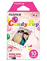 Fuji Instax Mini Films Usable with Polaroid Mio & 300 - Lomo Diana Instant Back - Candy Pop Film