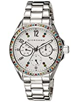 Giordano Analog White Dial Women's Watch - A2002-22