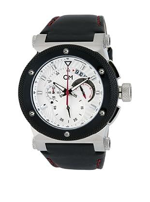 Carlo Monti Herren Armbanduhr Stahl/silber/Leder CM701 112