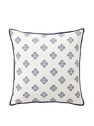 Tommy Hilfiger Spectator Plaid Collection Pillow, Khaki Fleur