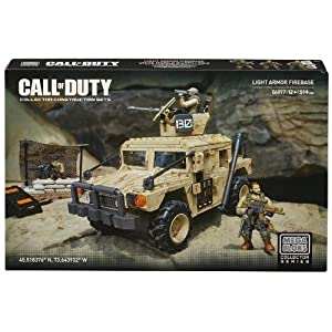 Mega Bloks Call of Duty Light Armor Firebase, Model 06817, 514 Piece