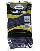 Mayflower Balloons 8912 17 Inch Outdoor Latex - Midnight Blue Pack Of 72
