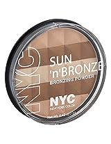 N.Y.C. New York Color Sun 2 Sun Bronzing Powder, Hamptons Radiance, 0.42 Ounce