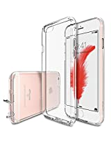 iPhone 6S Case, Ringke [Fusion Air] Weightless as Air [Extreme Lightweight] Ultra-Thin Transparent Soft Flexible TPU Scratch Resistant Protective Case for Apple iPhone 6S / 6 - Crystal View