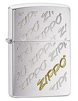Zippo Brushed Chrome Lighter, 28642