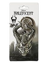 Disney Maleficent Head Pewter Key Ring