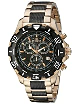 Invicta Analog Black Dial Men's Watch - 1221