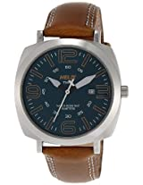 Helix Pitlane Analog Blue Dial Men's Watch - TI017HG0200
