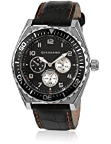 Giordano Analog Black Dial Men's Watch - 1541-01