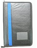 Mnbro Black Faux Leather Portfolio File - Pockets - 10
