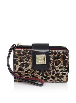 OH by Joy Gryson Women's Tech Wallet, Leopard