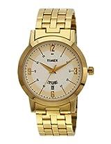 Timex Classics Analog Silver Dial Men's Watch - TI000T116