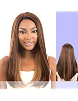Ldp Flow (Motown Tress) Heat Resistant Fiber Lace Part Wig In 1 B