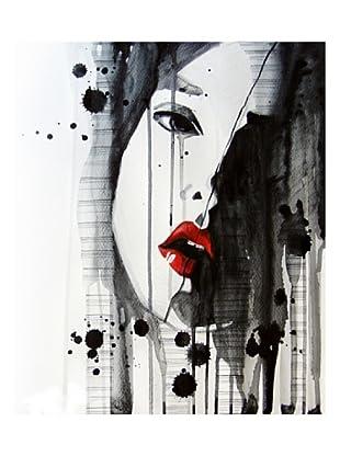 LegendArte  Wandbild Angelic Sadness 50 x 60 cm