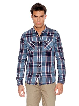 Pepe Jeans London Camisa Romans (Azul Oscuro)