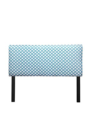Sole Designs Upholstered Eddy Headboard (Tan/Teal)