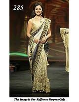 Rashmi desai in half and half Bollywood Replica saree/L321